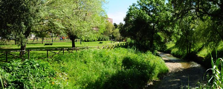 Condicionamento na utilização do Parque Urbano Felício Loureiro em Queluz